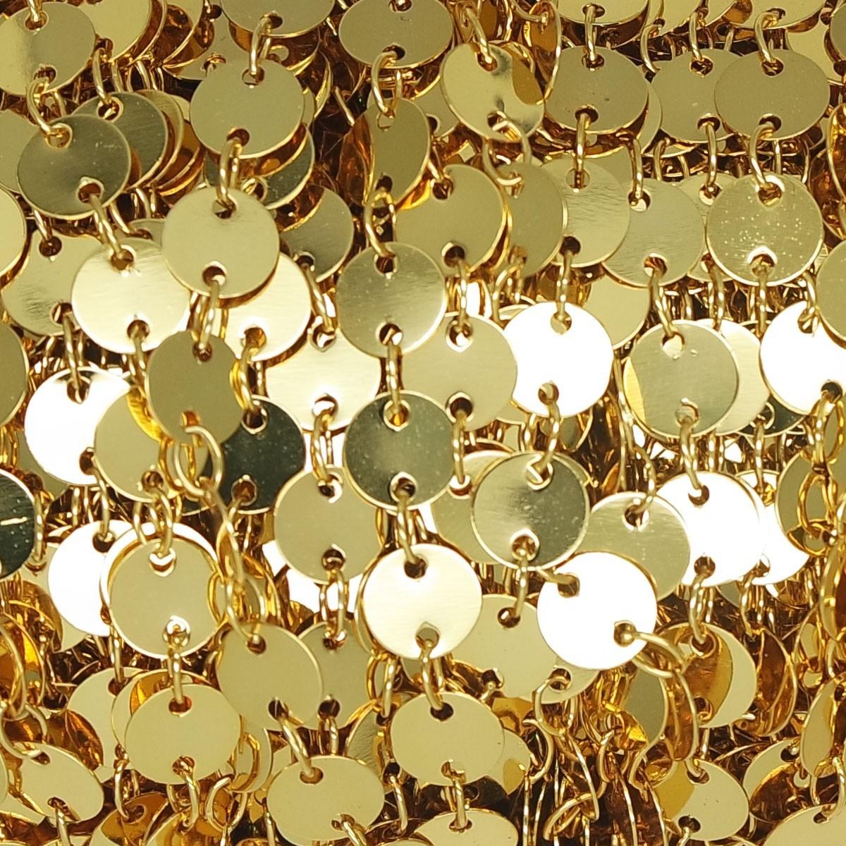 Catena con Tondi pendenti Gold