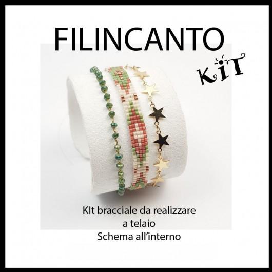"Kit + schema BRACCIALE A TELAIO ""ESTATE"""