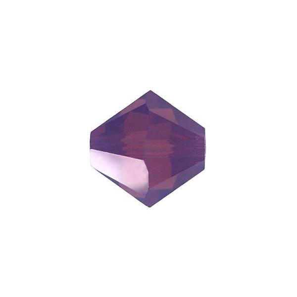 Bicono 5328 Swarovski Cyclamen Opal