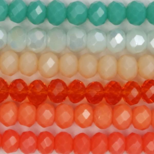 Palette Cristalli 3mm Coral