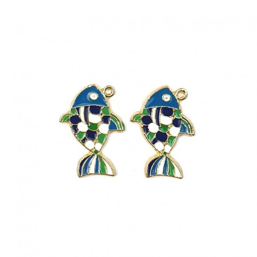 Charms Alice Celeste 20mm