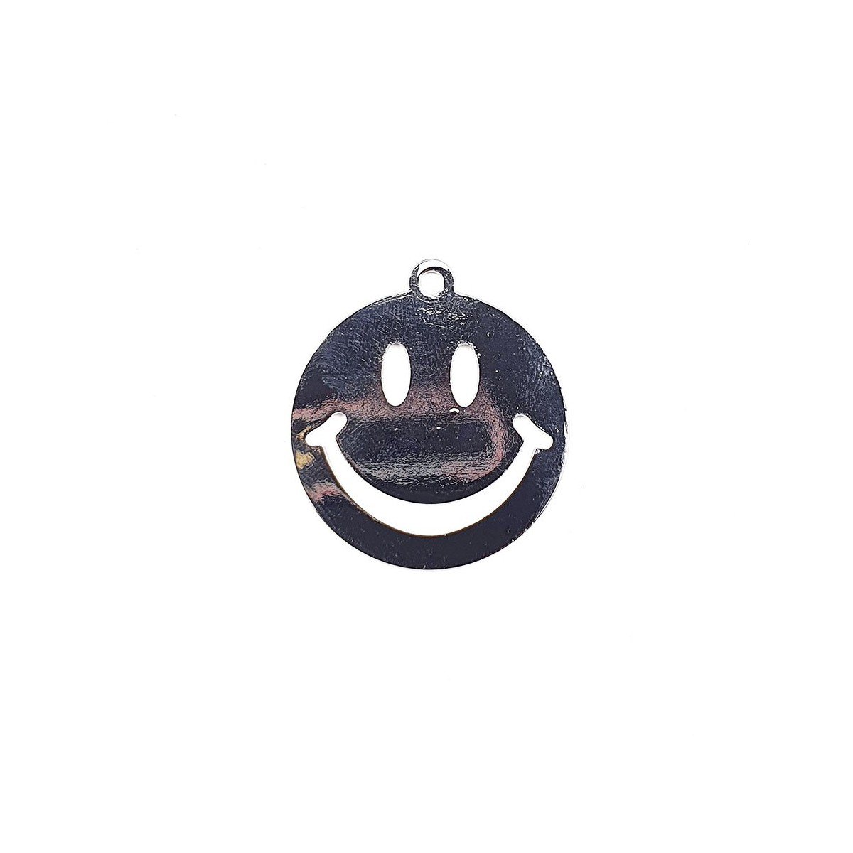 SMILE ARGENTO 25 MM 1  PEZZI