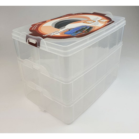 Box porta perline 18 scomparti