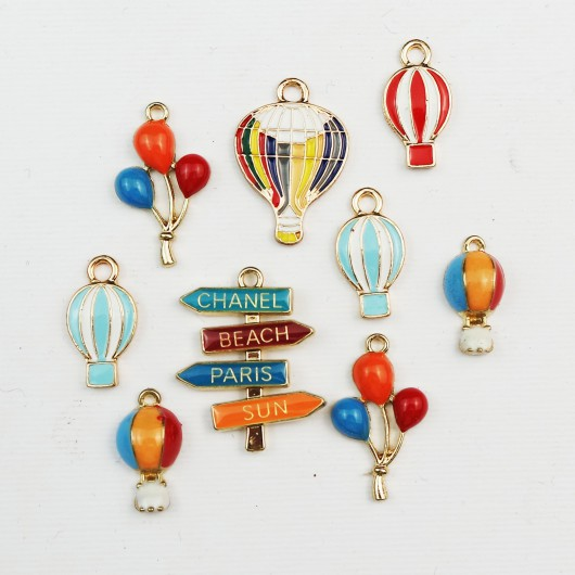 Set di charms assortiti CHIC
