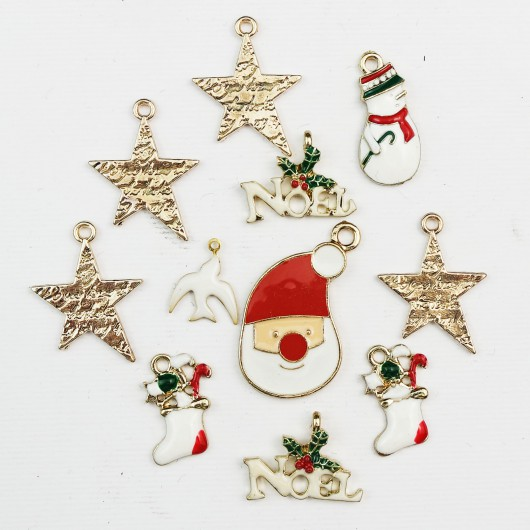 Set di charms assortiti NATALE