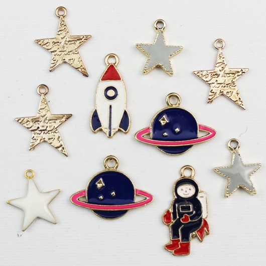 Set di charms assortiti STAR