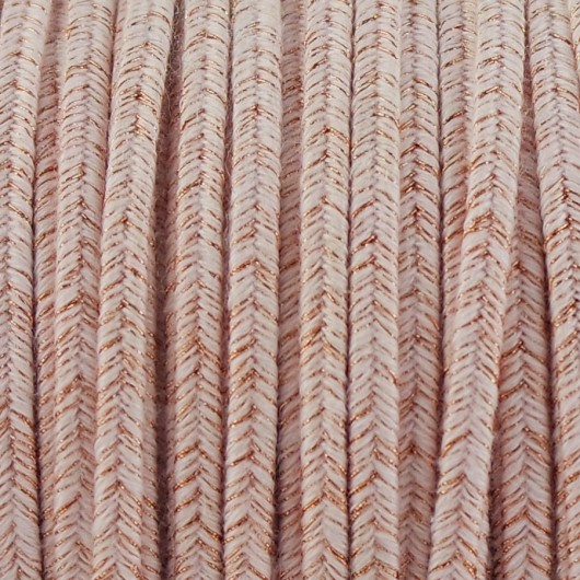 Soutache A.DEL ROSE GOLD mm 3,0 x 2mt