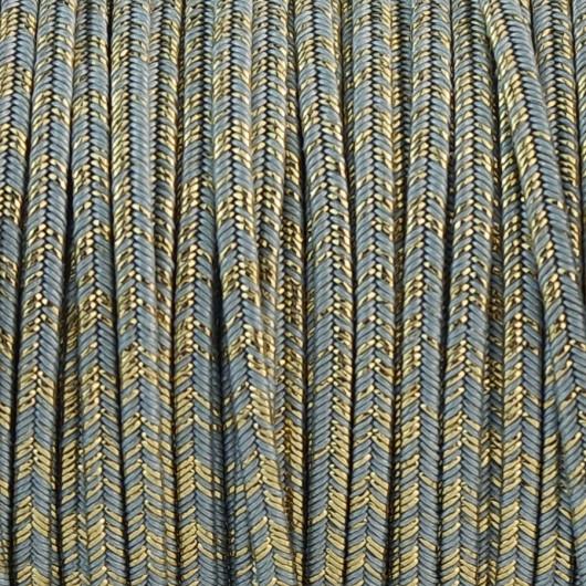 Soutache SPARKLING AIR BLU  LM mm 3,0 x 2mt
