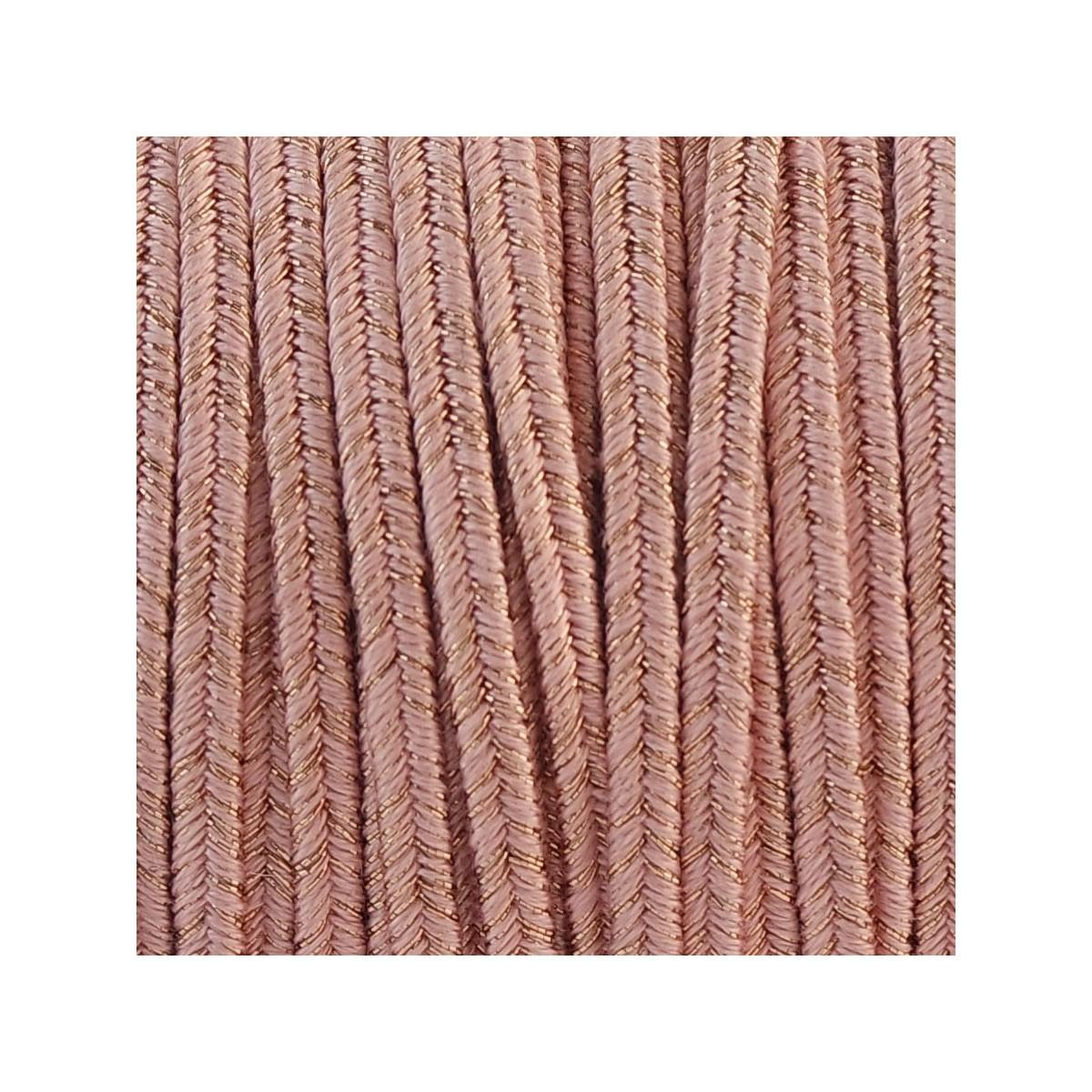 Soutache Cotton CAMILLA LAME' mm 4,0 x 2mt