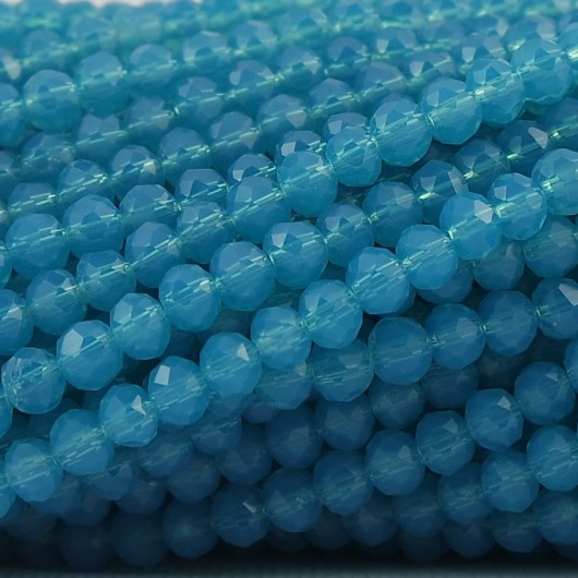 Rondelle in Cristallo Sfaccettato 4x3mm SIRENETTA
