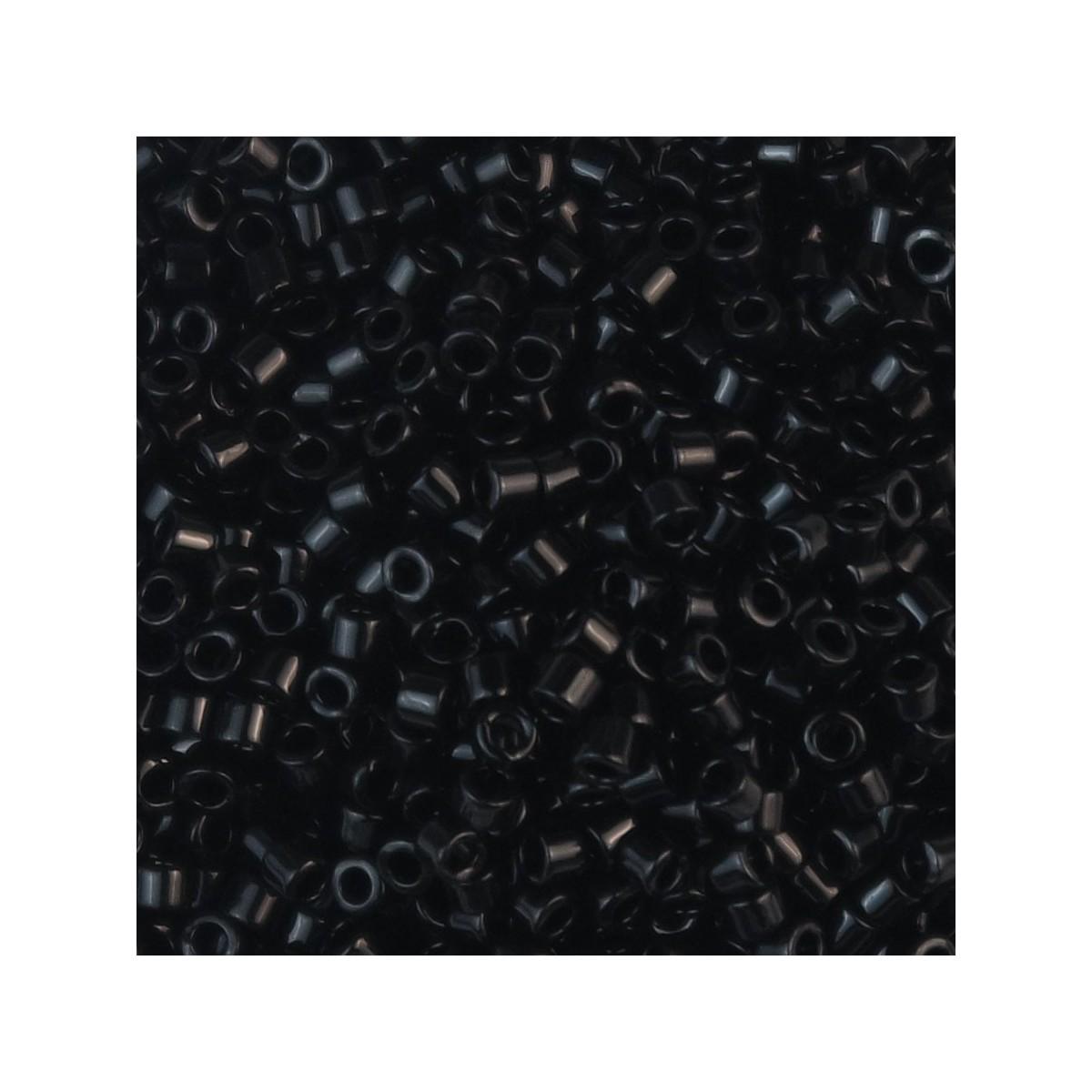 Perline Miyuki Delica 11/0 DB0010 BLACK