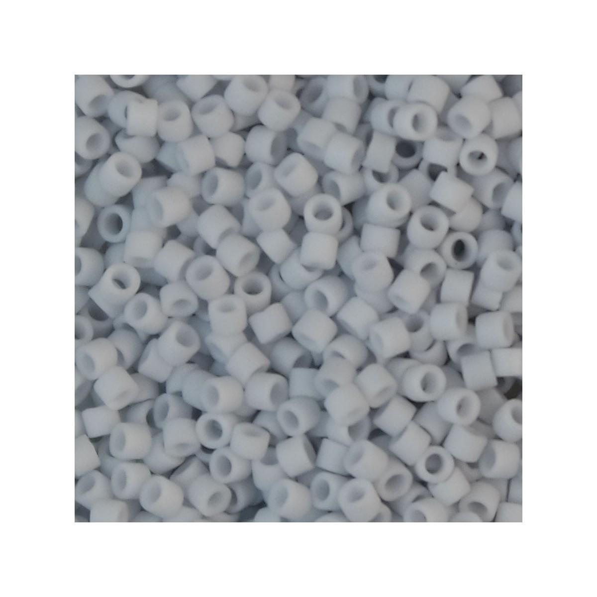 Perline Miyuki Delica 11/0 DB0357 MATTE OPAQUE GLAZED GREY