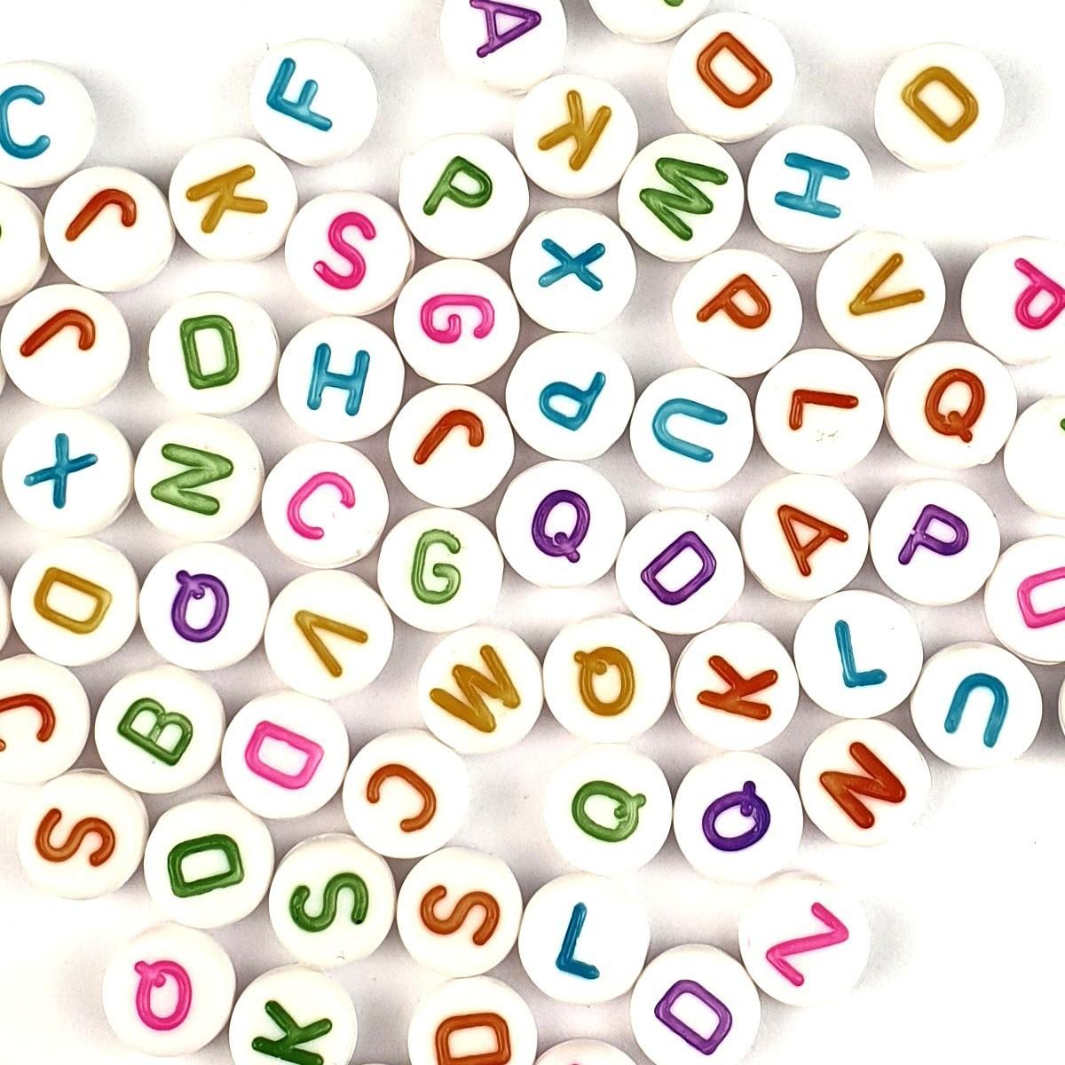 Letterine Passanti Multicolor Cubetto