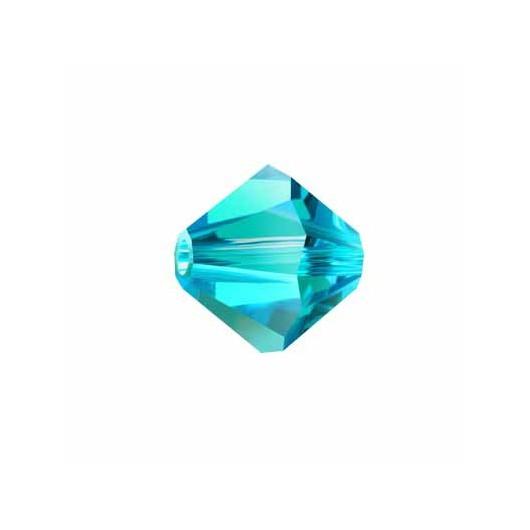 Bicono 5328 Swarovski Blue Zircon