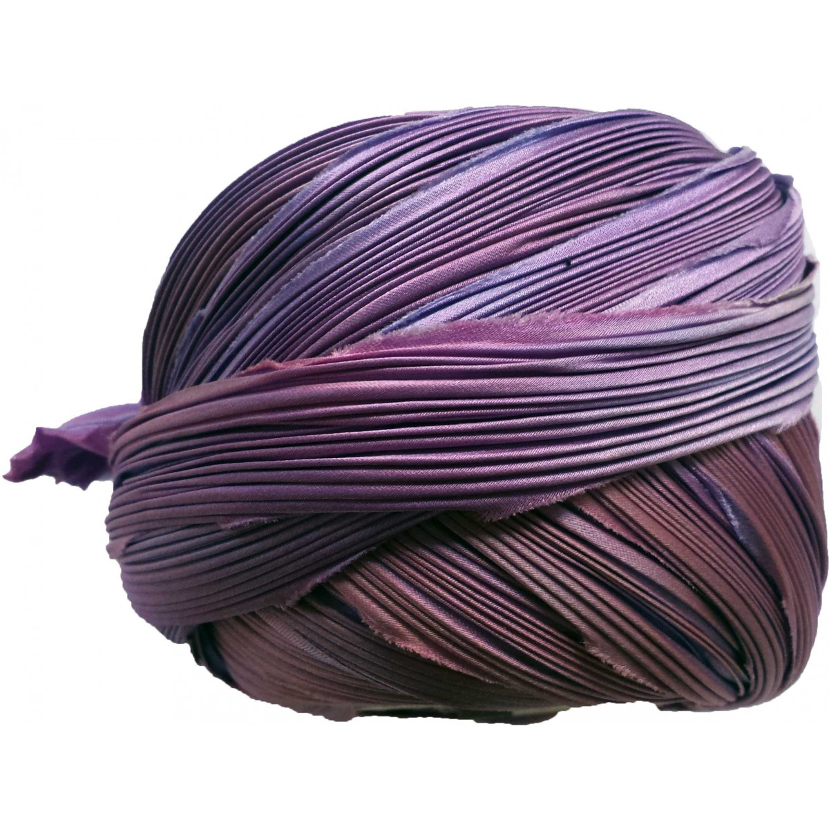 Seta Shibori 10 Cm  Colore: Lapis Sili
