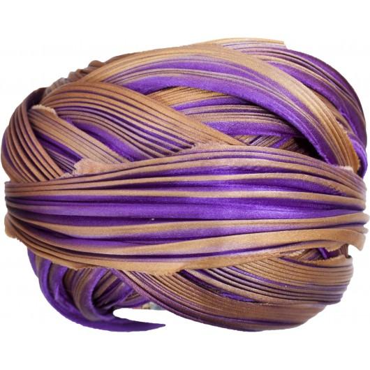 Shibori Silk Royalty x15cm