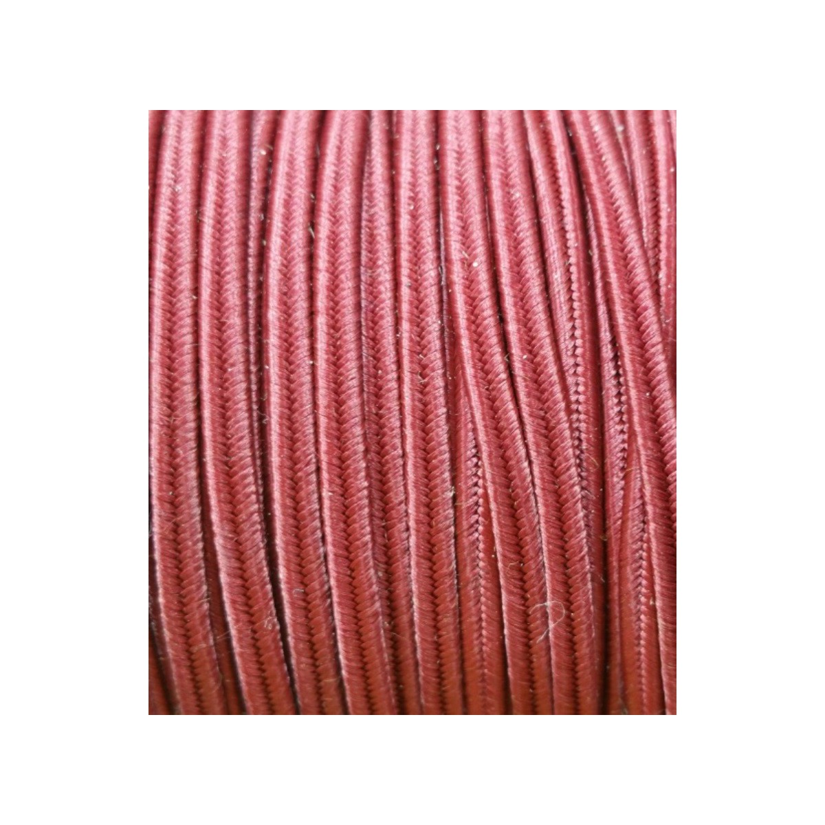 Cordoncino Soutache HQ 4mm MARSALA x 3 mt