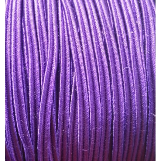 Cordoncino Soutache HQ 4mm PURPLE x 3 mt