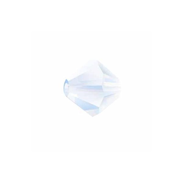 Bicono 5328 Swarovski White Opal