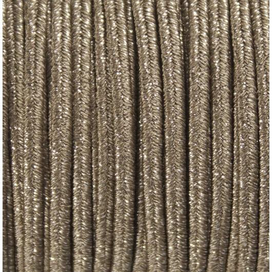 Soutache Metal Platinum mm 4,0 x 3mt