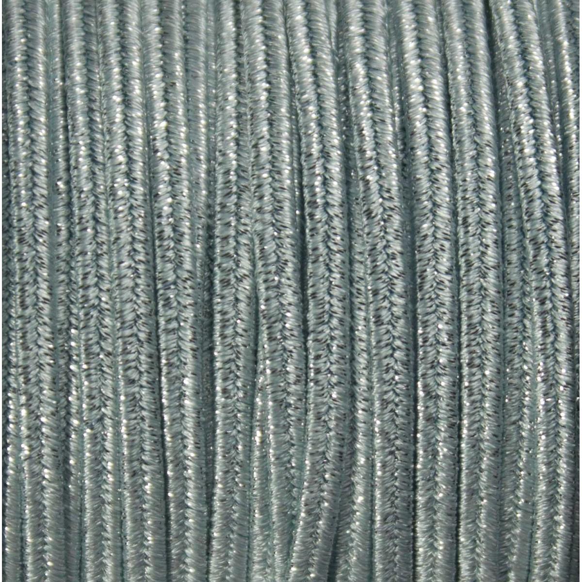 Cordoncino Soutache Metallico mm 4,0 Metal Azore x 3 mt