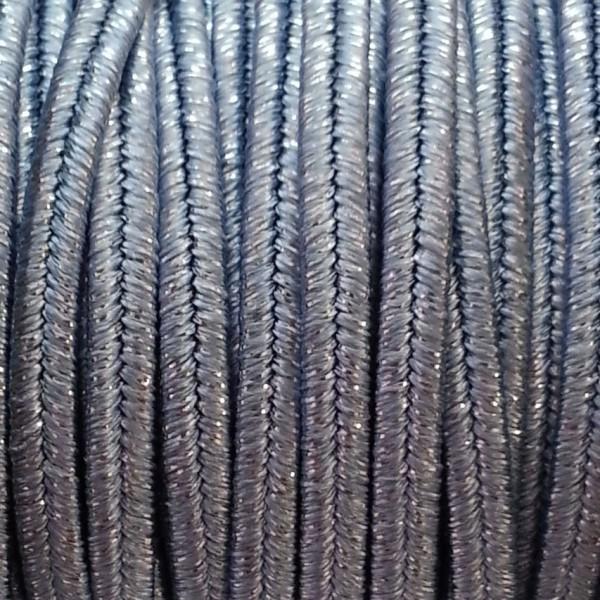 Cordoncino Soutache Metallico mm 4,0 Metal Sapphire x 3 mt