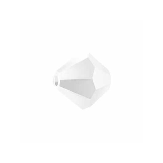 Bicono 5328 Swarovski White Alabaster