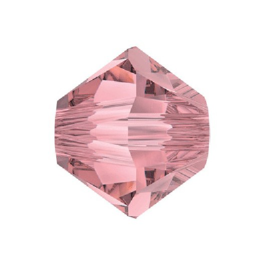 Bicono 5328 Swarovski Crystal Antique Pink