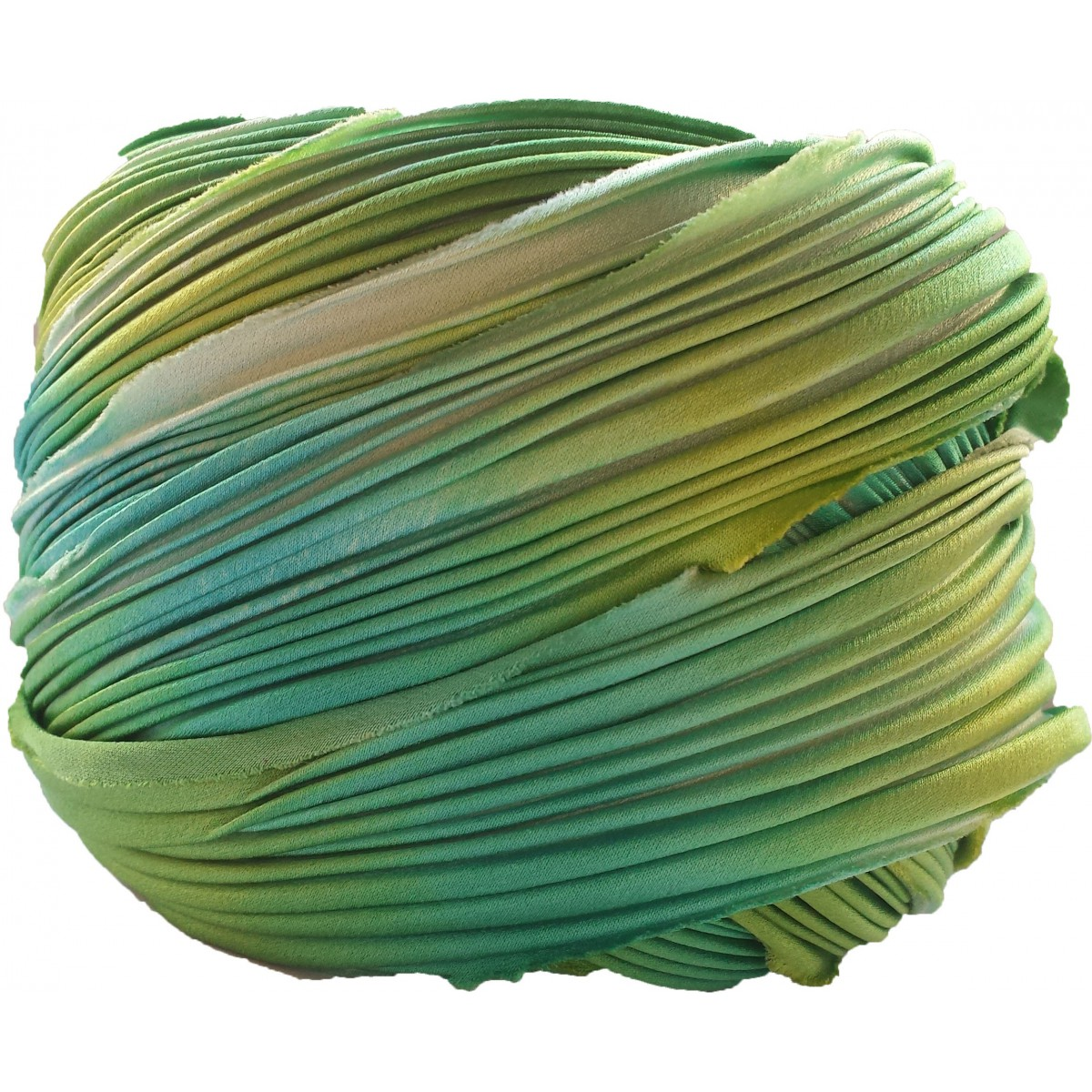 Silk  Shibori Mardi Gras x15cm