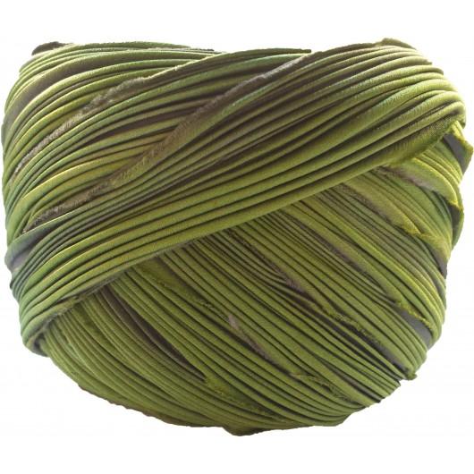 Silk Shibori Midnight Borealis x15cm