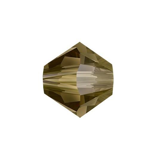Bicono 5328 Swarovski Crystal Bronze Shade
