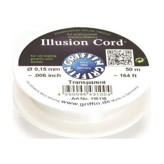 Nylon Invisibile Illusion Cord 0,15mm 50mt