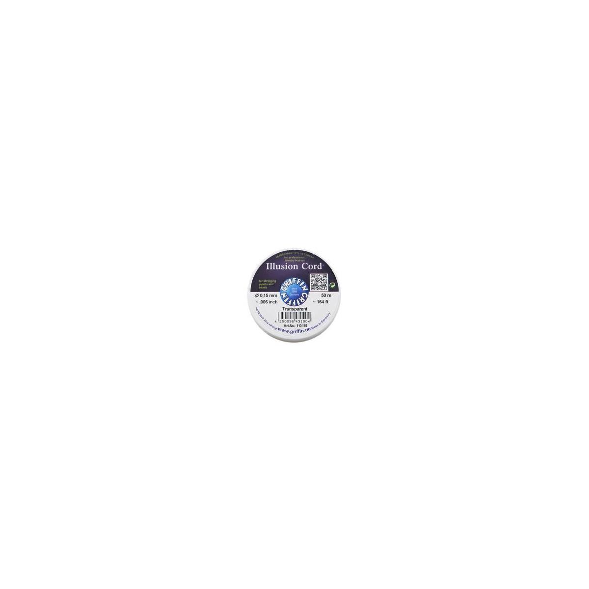 Nylon Invisibile Illusion Cord 0,15mm 50mt